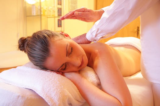 Shiatsu Massage - Relaxation Massage.